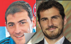 iker casillas antes y despues
