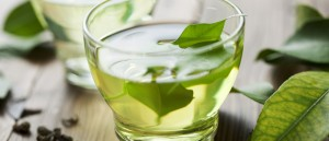 Te verde taza